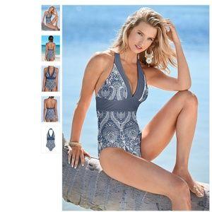 5a86c7a3e0bd8 VENUS Swim | High Neck Flounce Bathing Suit | Poshmark